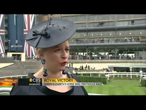 Queen makes history at Royal Ascot