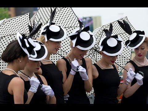The Ladies Hat on the Royal Ascot 2013