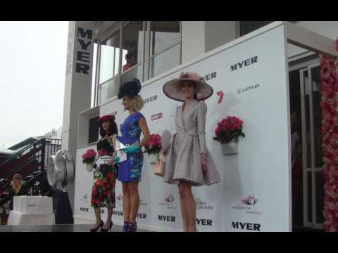 Melbourne Cup 2012 Fashions on the Field wrap up by OHARA