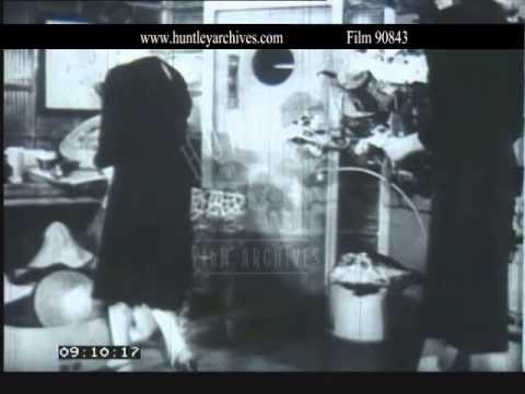 Millinery in 1944. Film 90843