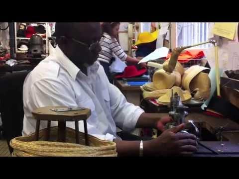Making a Straw Hat