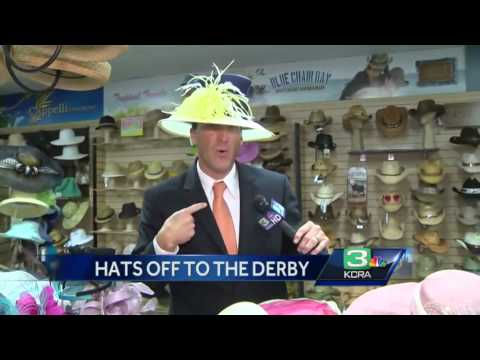 Kentucky Derby hats in hot styles, colors