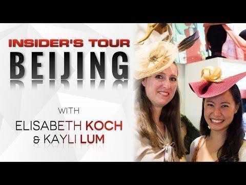 Insider's Tour Beijing | Elisabeth Koch, China's goto Milliner
