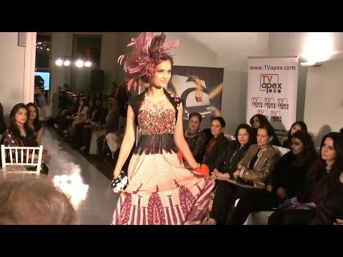London Fashion Parade Nomi Ansari collection