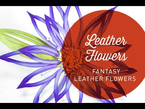 Hat Classes - Fantasy Leather Flowers