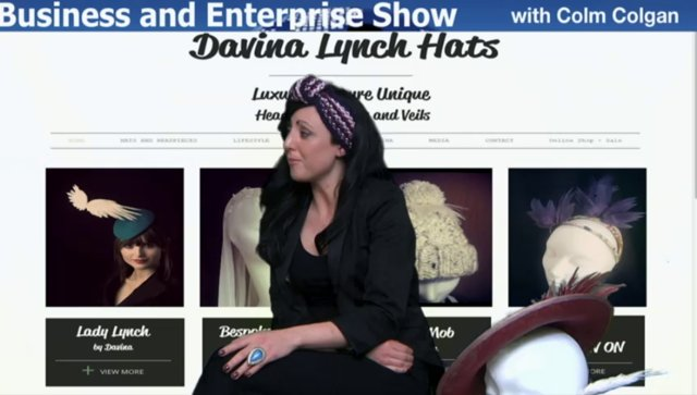 Davina Lynch gets A-Head on Business and Enterprise with Colm Colgan