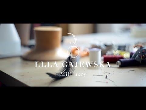 Ella Gajewska Millinery. Designer, Handmade Hats & Fascinators.