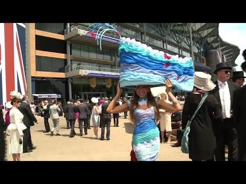 Creativity and humour found in ladies hats at Royal Ascot