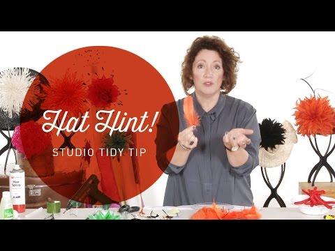Hat Hint - Studio Tidy Tip
