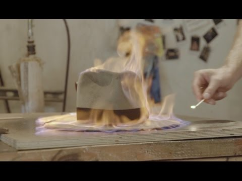 Nick Fouquet's Flame -Treated Hatmaking Masterclass