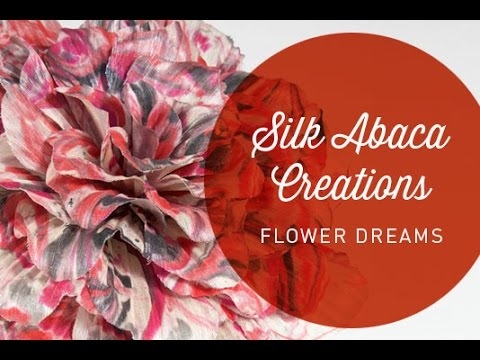 Hat Classes - Flower Dreams With Silk Abaca