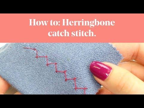 How To: Herringbone Stitch