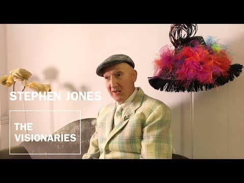 THE VISIONARIES: Stephen Jones