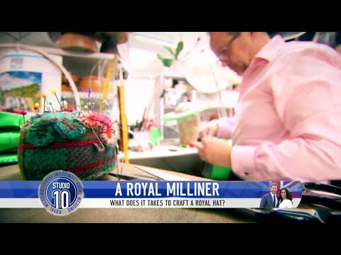 ROYAL WEDDING: What It Takes To Craft A Royal Hat