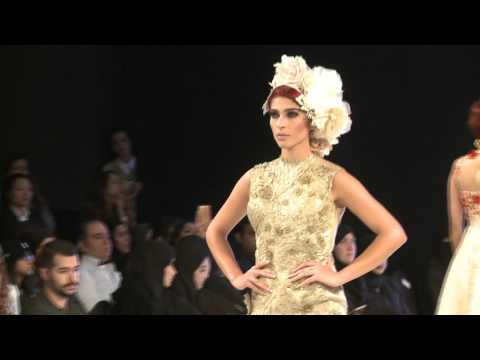 Raishma at Mercedes Benz Doha Fashion Week