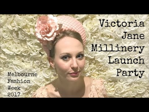 Victoria Jane Millinery Launch Party MFW
