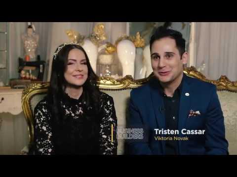 Designer Viktoria Novak's business journey