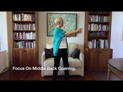 Qigong Spinal Turning For Flexibility, Pain Relief & Energy Boost