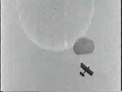 Early Airplane Parachute Tests: Video 2