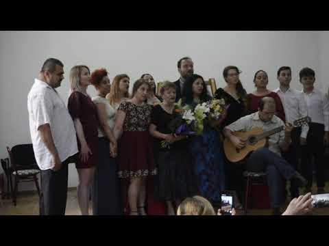 Clasa de Canto muzică clasică  la Școala  de Artă București 2018