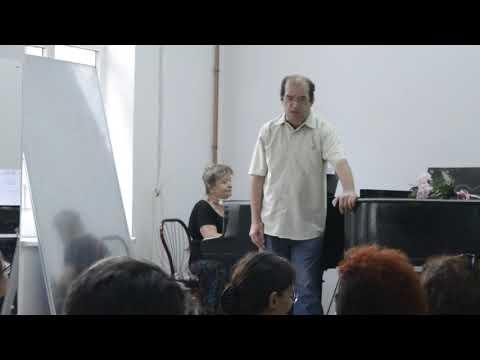 Examen la  Canto muzică clasică