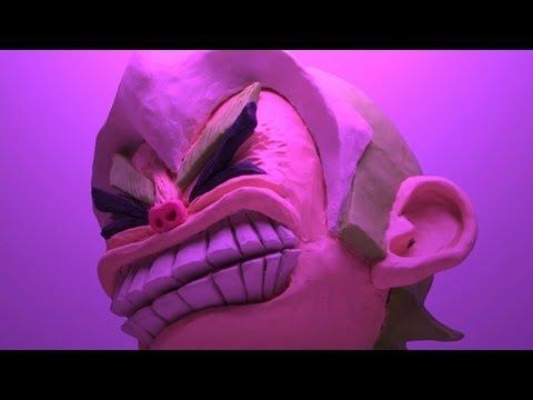 Clay animation : Hard Heavy Headbang!!!