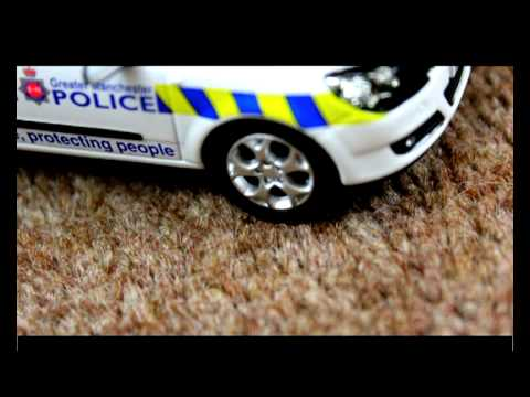 The UK's Best Police Chase EVER.... (Stop Motion)
