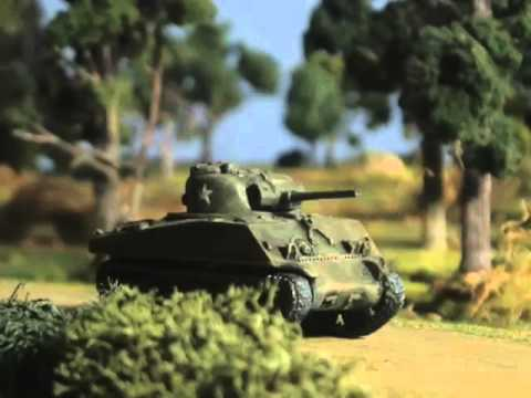Mr. Geister's Wargame - Stop Motion Animation