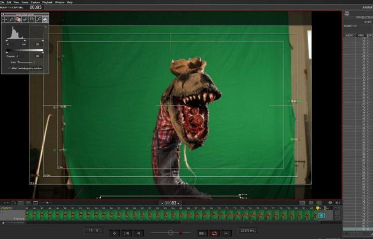 Stop Motion Scaresnake - Raw Animation with Motion Blur