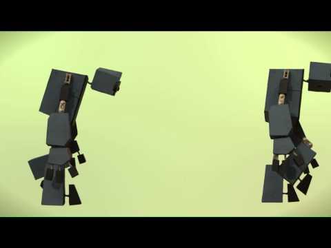 Do The Robot Walkcycle