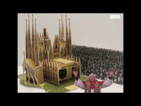 The construction of the Sagrada Familia in stop motion