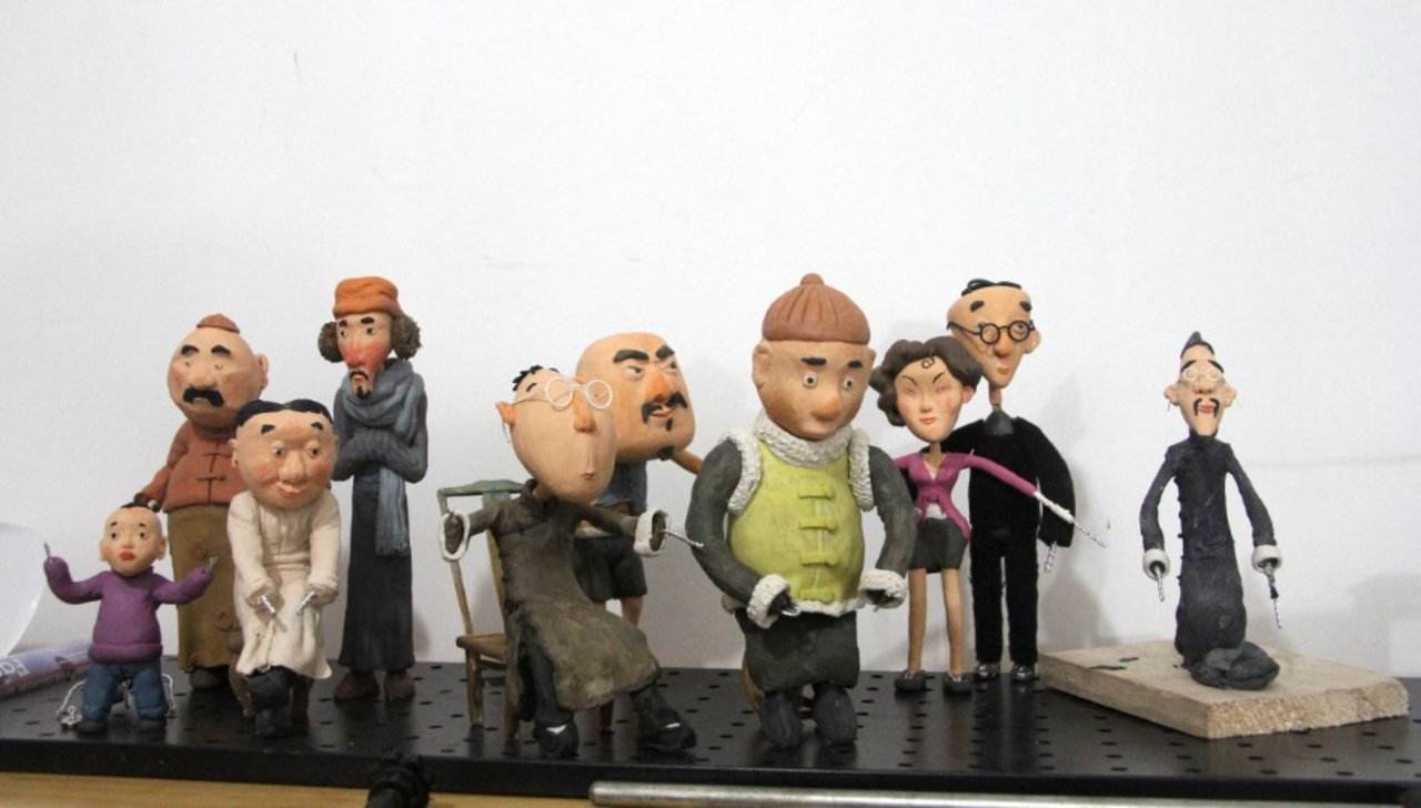 Stopmotion Animation《The Lose Time》Featurette3 Make Character