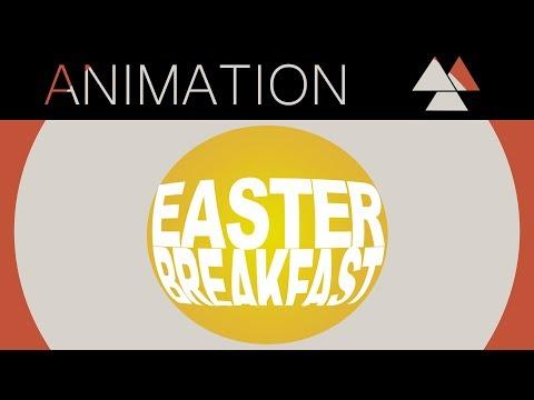 ▲Easter Breakfast // STOPMOTION▲