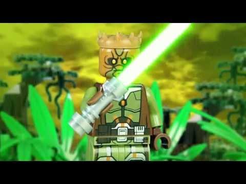 LEGO Star Wars jedi duel: Darth Maul vs Kao Cen Darach