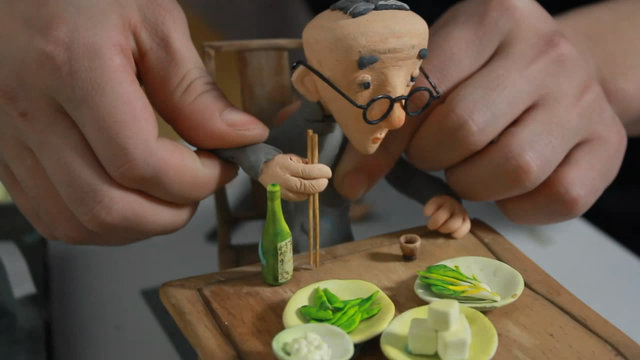 "Making of  Stop-motion Animation""The Lose Time"" 《消融的时光》花絮"