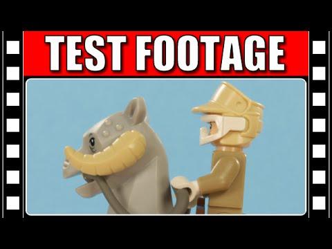 LEGO Star Wars Tauntaun Animation Test