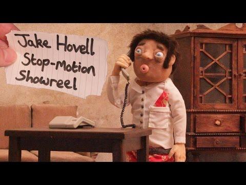 Jake Hovell Animation Showreel (Stop-motion) 2015