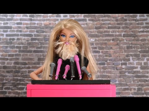 Barbie's Having a Good Day: Raising Awareness for Movember and No Shave November