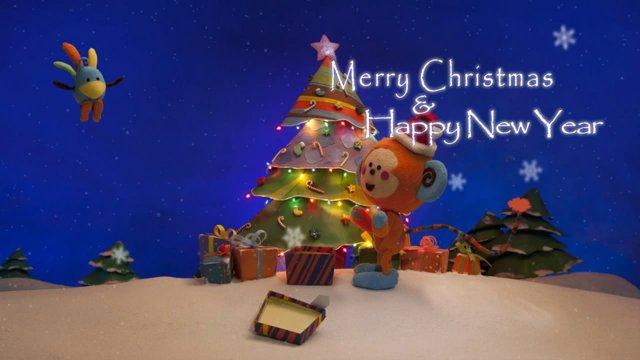 """Merry Christmas"" Stopmotion Animation"