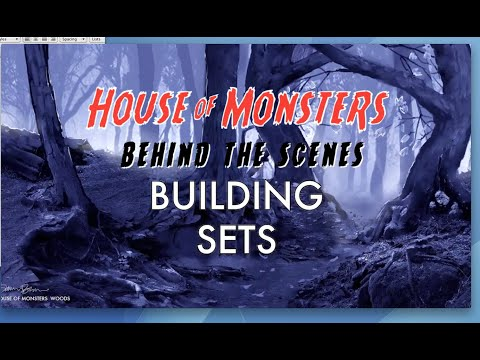 House of Monsters Behind the Scenes: Building Sets