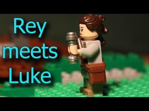 When Rey meets Luke....