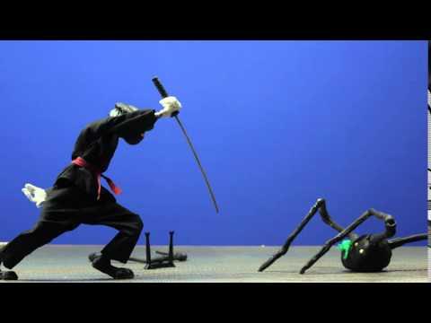 Sibylle vs Spider-monster