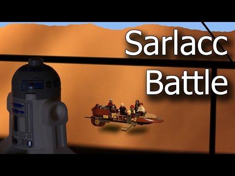 Lego Stop Motion - Star Wars - Sarlacc Battle