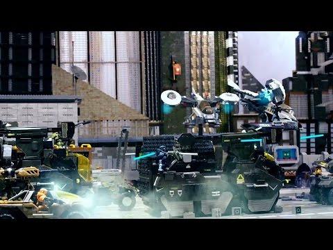 Battle for New Mombasa (Part1) by Mega Bloks Halo