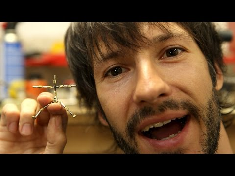 Building the smallest puppet armature ever