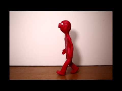 Mr. Clay WalkCycle Test (Puppet Putty)