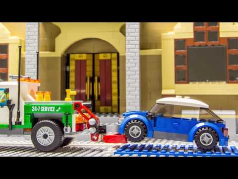The Parking Spot (Lego Stop Motion Brickfilm)