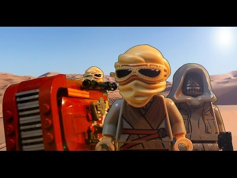 REY (Lego Star Wars Stop Motion)