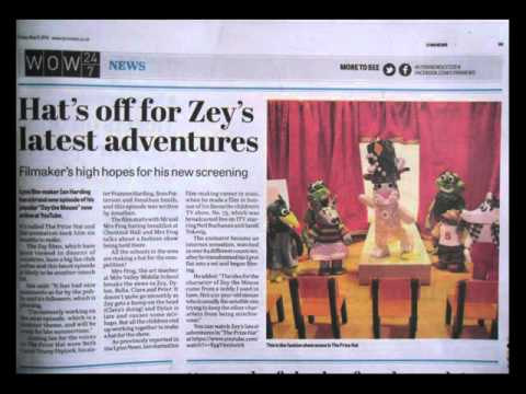 ZEY THE MOUSE Newspapers Articles 3 Fimo Creations Exhibitions The Forum Norwich and King's Lynn