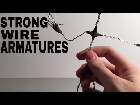 How to make stop motion armatures